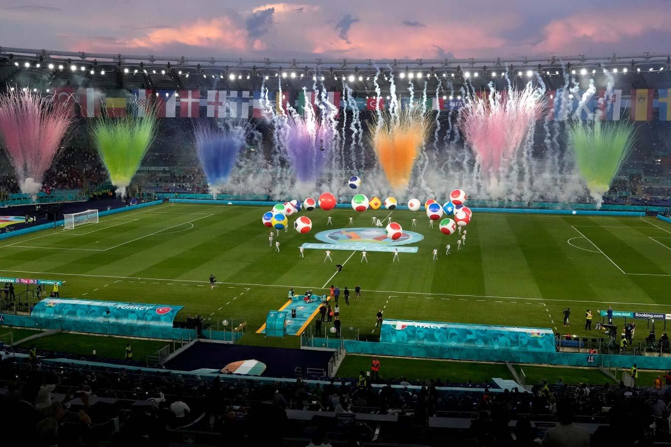 В Риме состоялась церемония открытия чемпионата Европы  2020