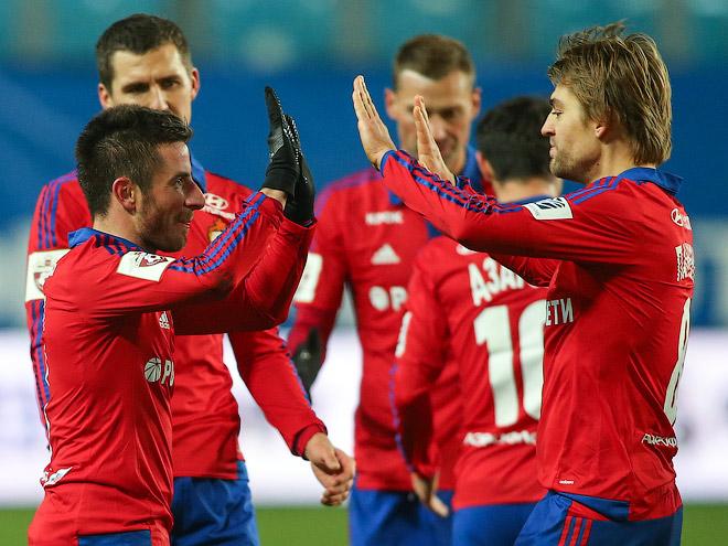 ЦСКА — победитель первого круга