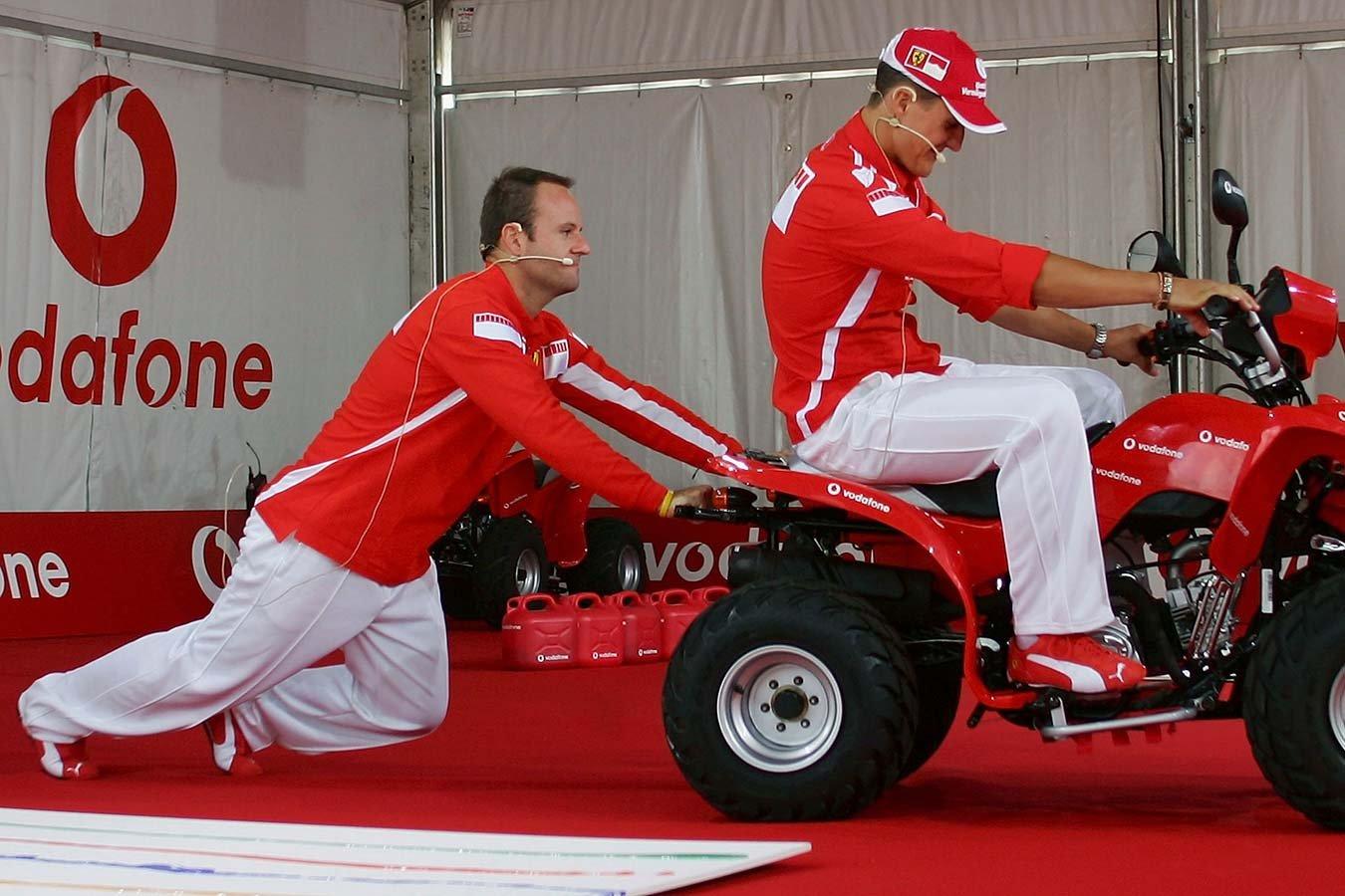 Где сейчас напарник Шумахера — Рубенс Баррикелло?