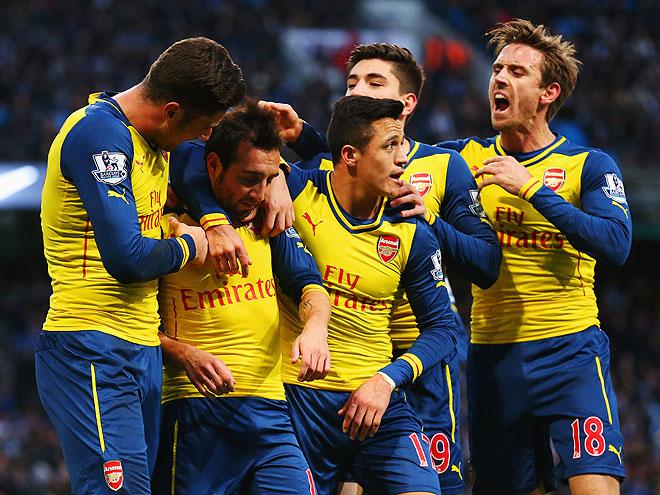 Игроки ФК «Арсенал» Лондон