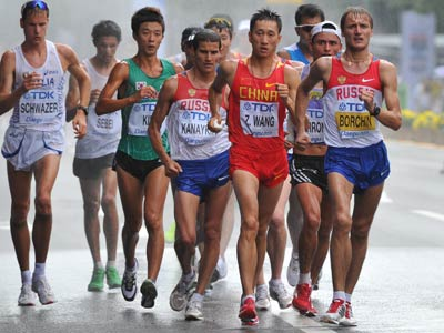 Лондон 2012. Лёгкая атлетика. Валерий Борчин