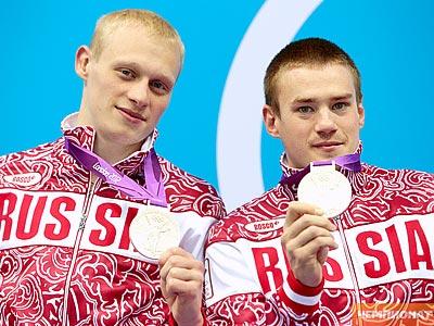 Лондон-2012. Прыжки в воду. Захаров и Кузнецов