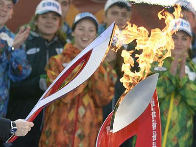 Зачем нужна эстафета олимпийского огня