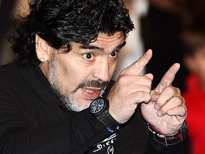 Марадона: пришёл, увидел и попал!