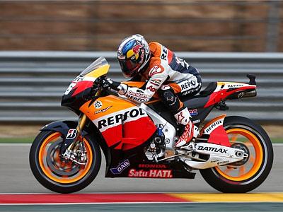 Гран-при Арагона MotoGP в Валенсии: Педроса впереди Лоренсо