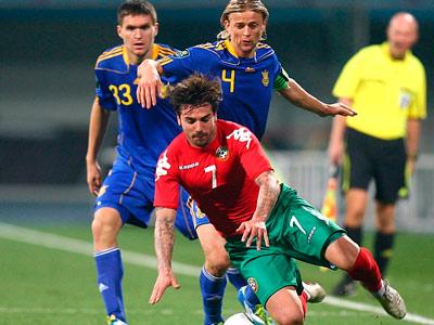 Сборная Украины сыграет с болгарами