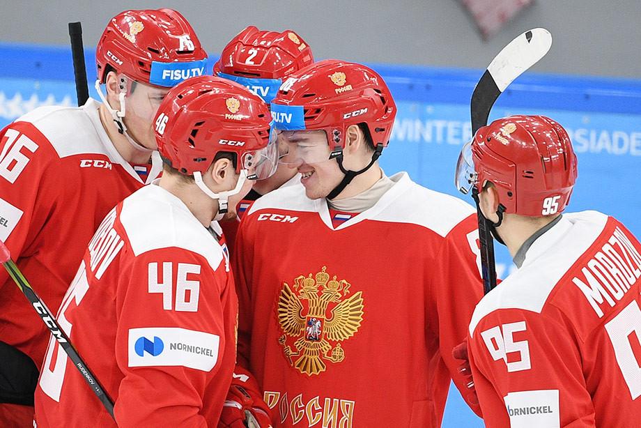 Без чуда на льду. Россия не дрогнула перед американскими студентами