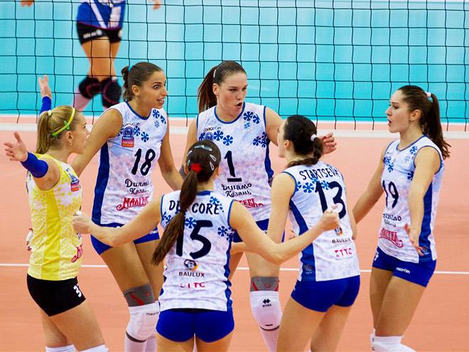 Волейболистки сборной «Динамо» Казань