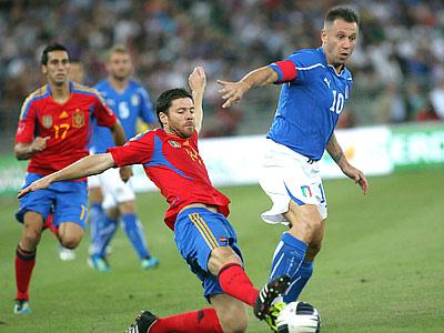 Испания – Италия: как это было раньше
