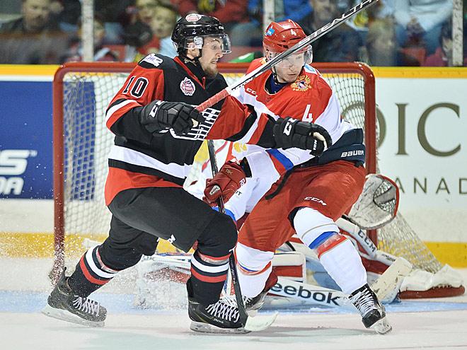 CHL Canada Russia Series. OHL – Россия – 2:1
