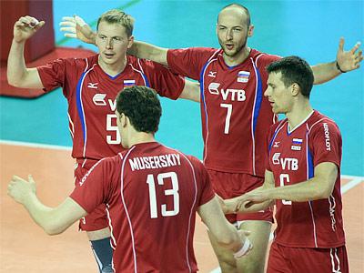 Волейбол. МЛ. Россия — Италия — 3:1
