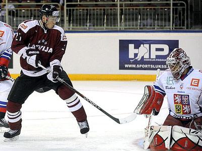 Сборная Чехии в Риге обыграла сборную Латвии