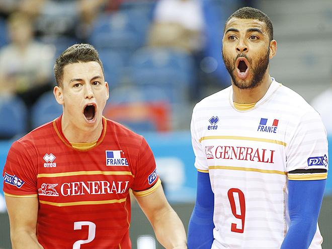 В полуфиналах сыграют Сербия - Италия, Бразилия - Франция