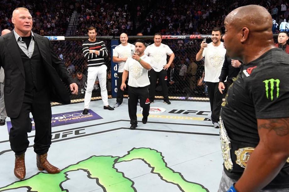 Леснар вызывает Кормье на бой, Хабиб благодарит сборную