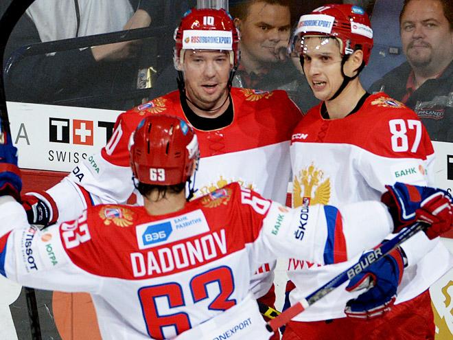 Сборная России выиграла у Швеции – 6:3