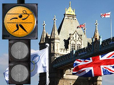 """Лондонский светофор"". Бадминтон"