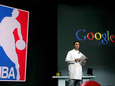 Спортивный мир увлечётся Google+