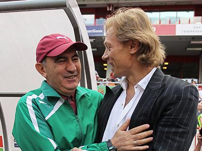 Курбан Бердыев и Валерий Карпин
