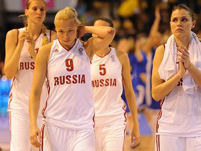 Россиянки выиграли у Италии на Евробаскете
