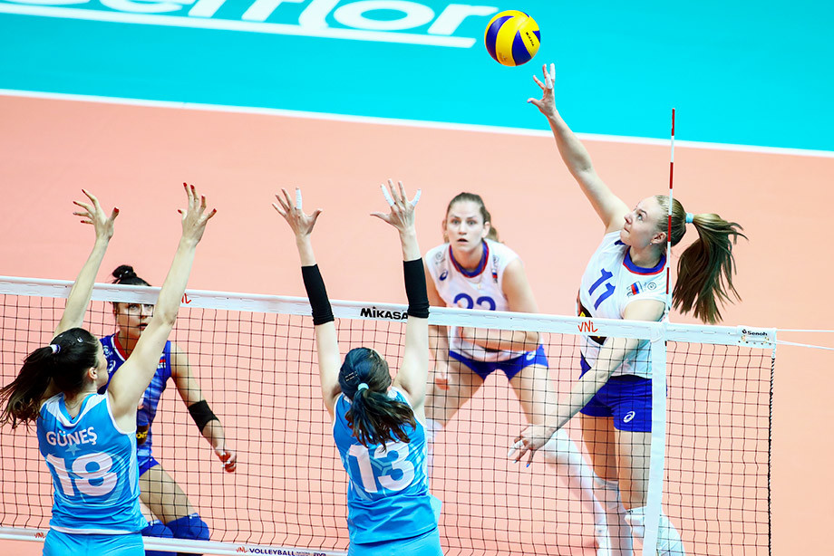 Россия проиграла Турции на втором этапе Лиги наций, обзор матча