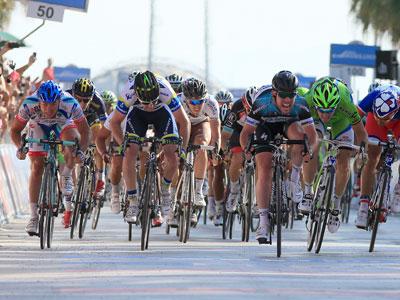 Максим Бельков выиграл этап «Джиро»