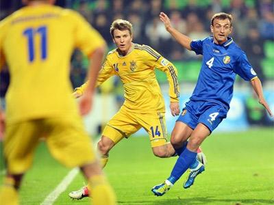 Игроки сборной Украины о матча в Кишинёве