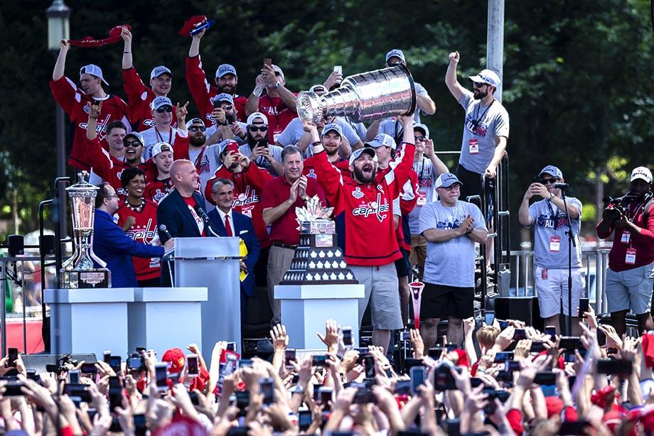 «Вашингтон Кэпиталз» — обладатель Кубка Стэнли