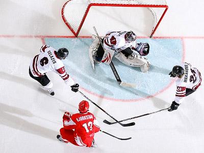 Юниорская сборная Латвии проиграла команде Дании