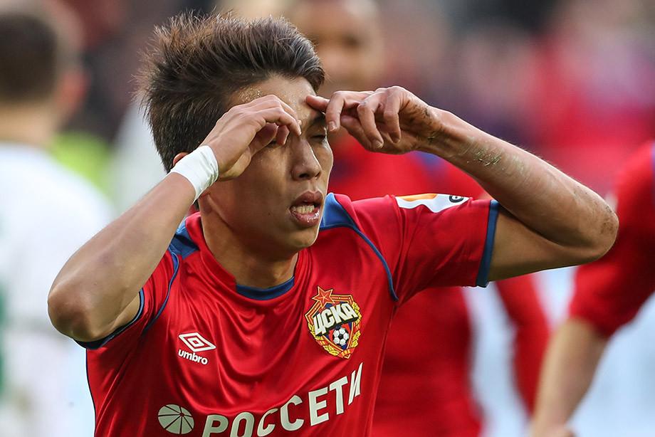 ЦСКА – «Рубин» – 3:0, Нисимура