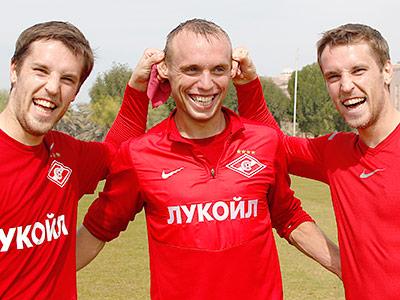 Денис Глушаков и братья Комбаровы