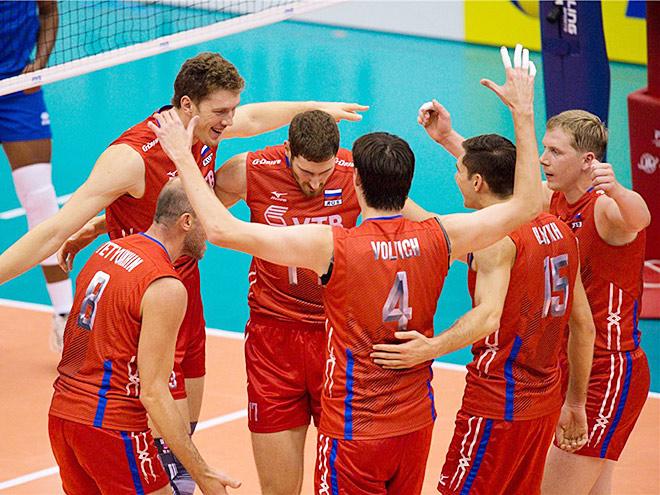 Волейбол. Кубок мира. Мужчины. Россия — Венесуэла — 3:0