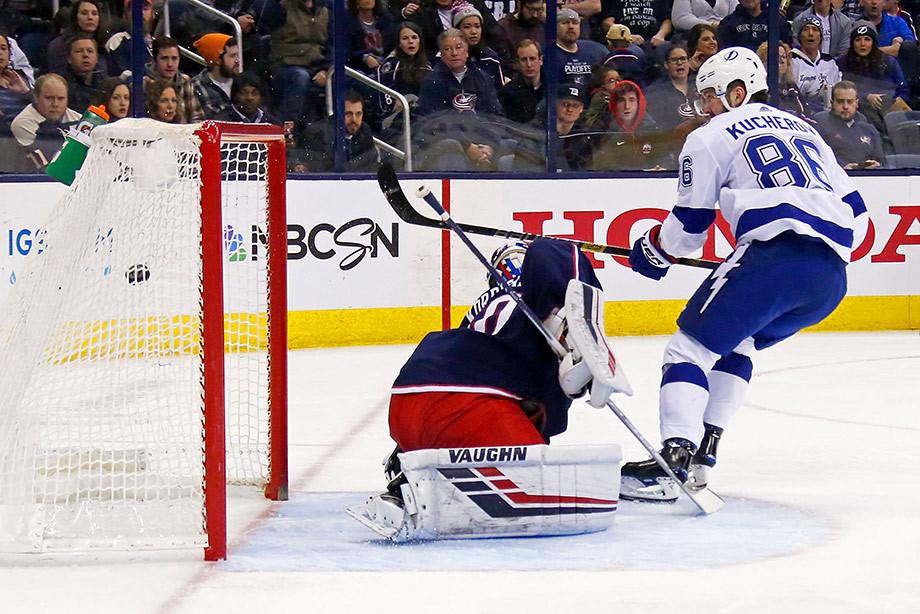 Кучеров рвёт всех в НХЛ! 18 очков в пяти матчах и 99 — за сезон