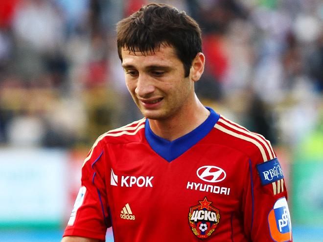 Алан Дзагоев заработал очередное удаление