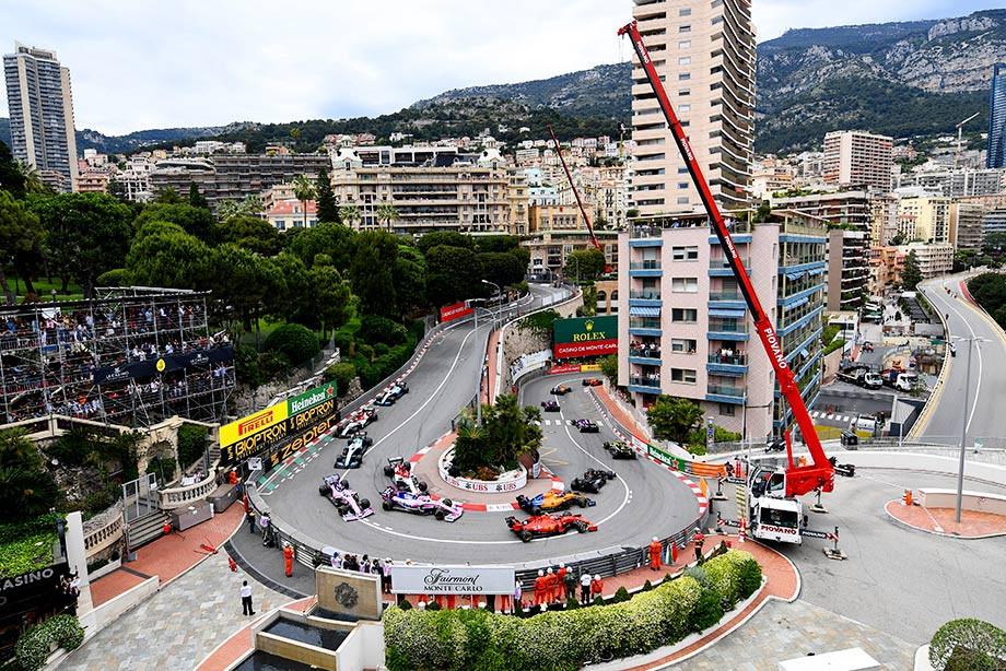Оценки за Гран-при Монако Формулы-1