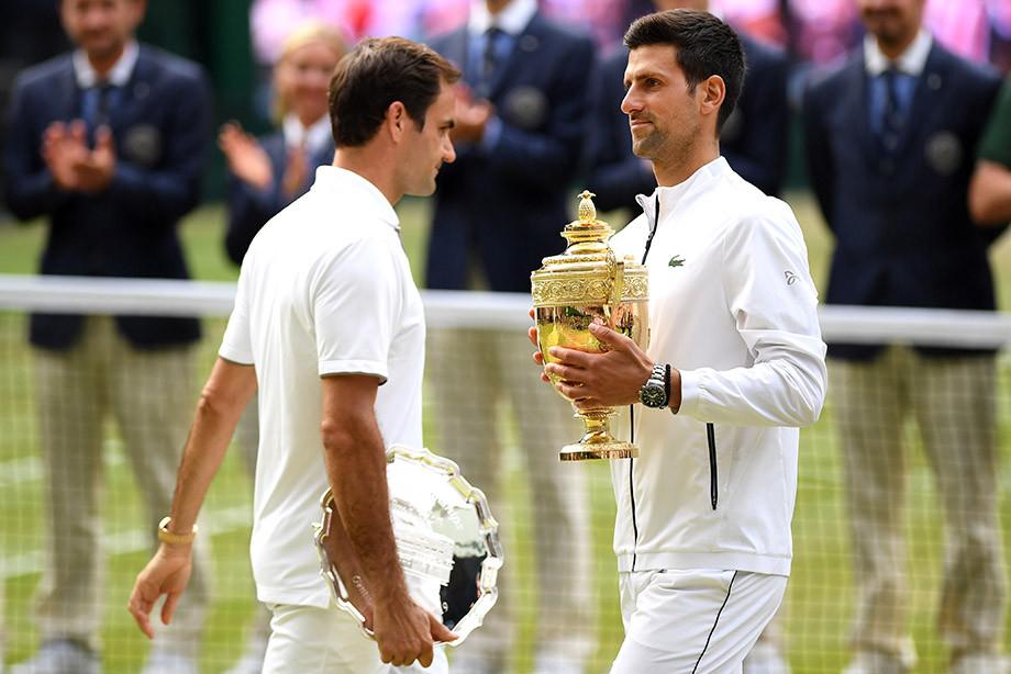 Роджер Федерер уступил Новаку Джоковичу в рекордно длинном финале Уимблдона