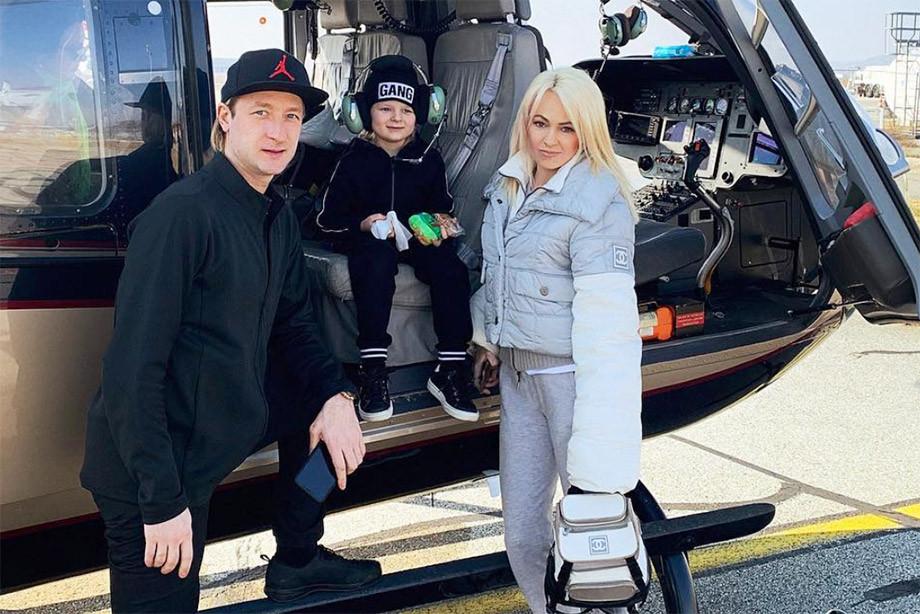 Яна Рудковская не отдаст сына Плющенко в футбол – только фигурное катание
