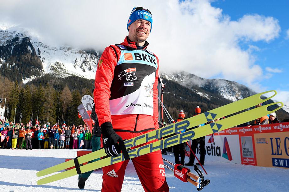 Сергей Устюгов, сборная России — лыжи