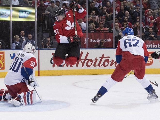 Главная звезда матча Канада— Чехия Сидни Кросби поведал охимии вкоманде