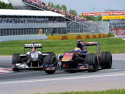 Петров выступил на уровне Шумахера