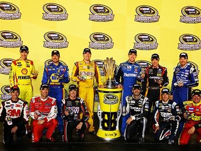 В финал NASCAR Sprint Cup вышли 13 пилотов