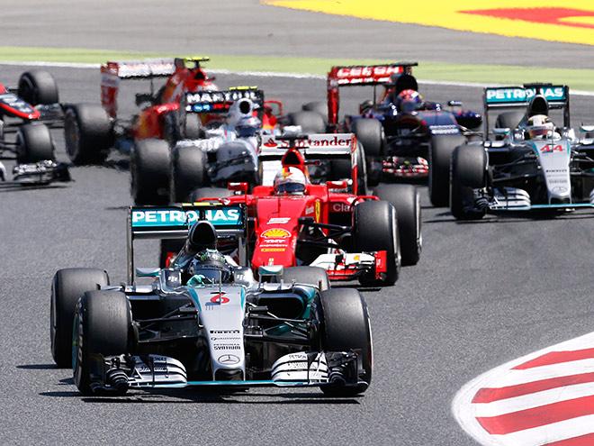 Нико Росберг выиграл Гран-при Испании Формулы-1