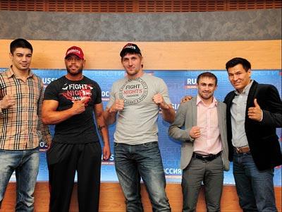 В главном бою шоу FIGHTNIGHT 7 сойдутся Виталий Минаков и Эдди Санчес