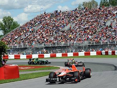 """""""Маруся"""" на Гран-при Канады Формулы-1"""