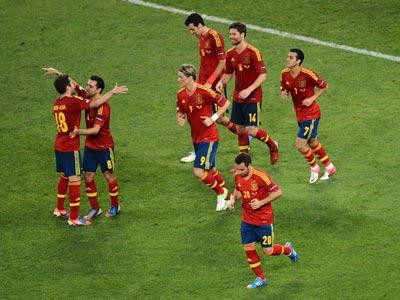 Кирилл Дементьев - о победе Испании над Францией