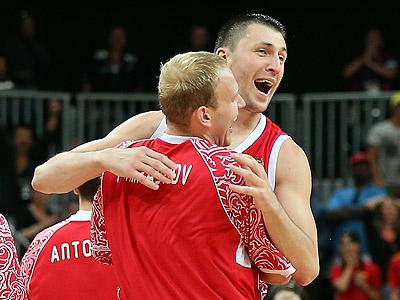 Лондон 2012. Баскетбол. Виталий Фридзон