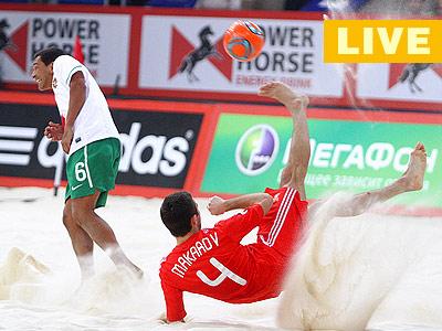 Пляжный футбол. Суперфинал. Россия-Португалия