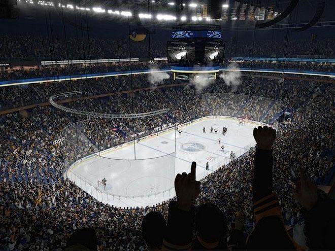 Эволюция хоккейных игр от EA Sports