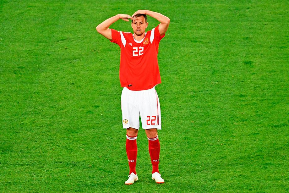 Артём Дзюба, сборная России по футболу