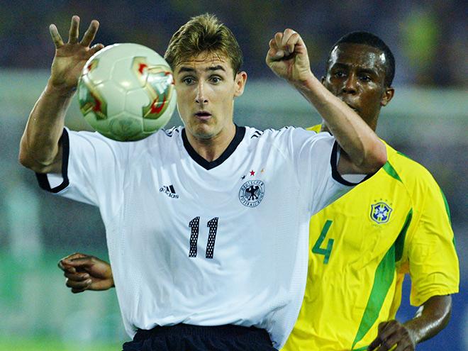В финале ЧМ-2002 Бразилия победила Германию - 2:0