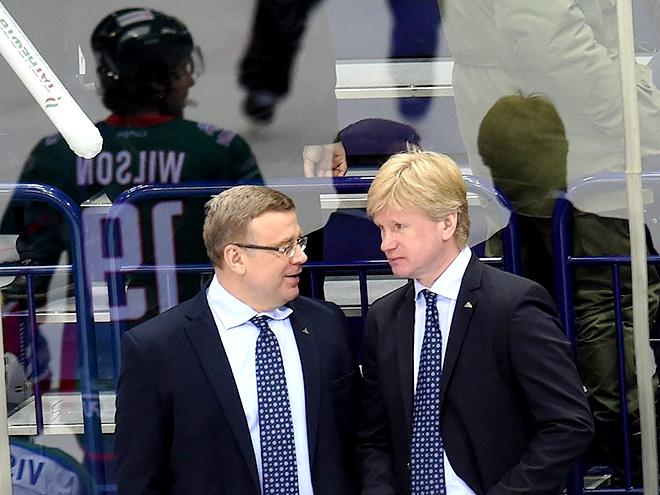 Игорь Захаркин и Николай Борщевский